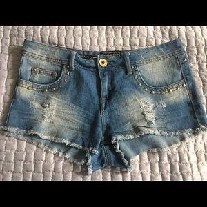 Parisian Denim Hot Pants size 3